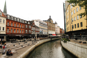 The beautiful city of Aarhus