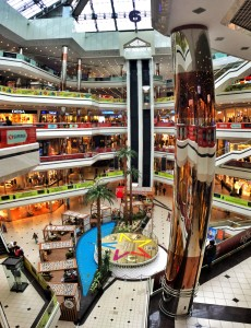 Europe's largest mall is only a short bus ride away from my house!