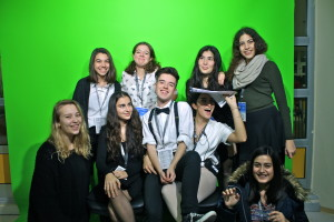 With the Press Team/Photographers of JMUN